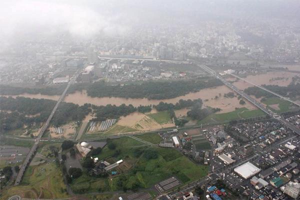 平成25年8月大雨被害(盛岡市内)